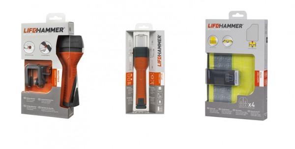 Safety Set: Safety Torch + Safety Hammer + Safety Vest