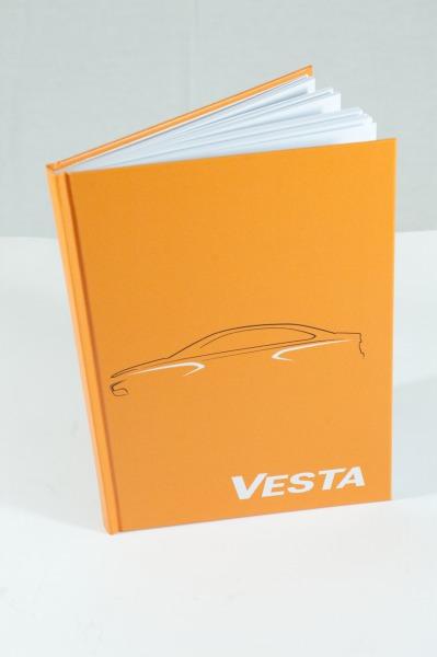 Notizbuch Vesta